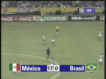 Miguel Calderón, Mexico vs Brazil (2004).