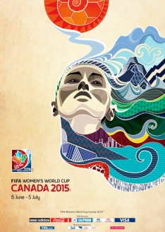Canada 2015 Women's World Cup Poster