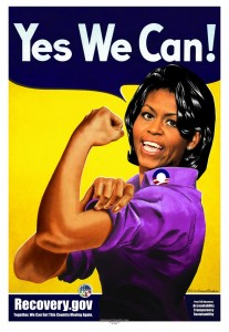 Michelle Obama's arms have been the subject of much scrutiny.