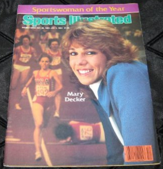 Mary Decker SI cover 1983